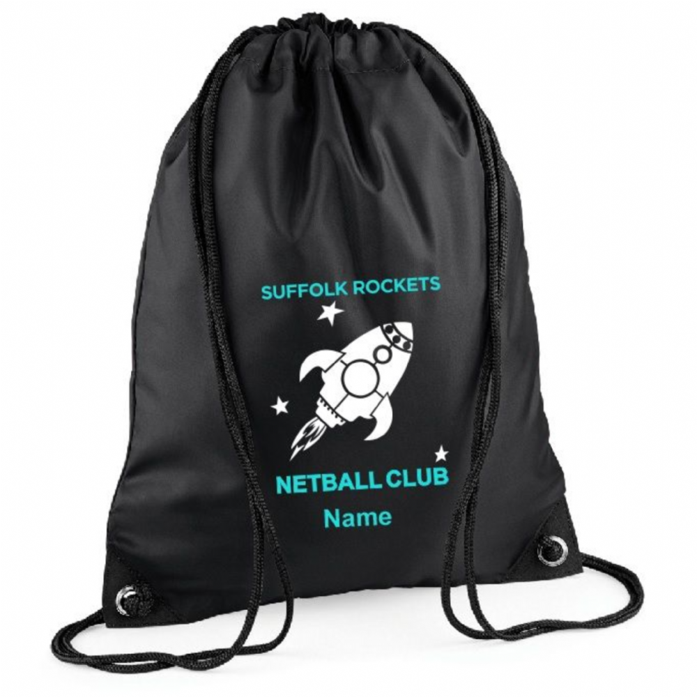 Suffolk Rockets N.C. Drawstring Bag - BG010